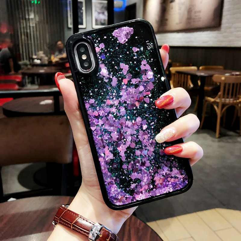 Luxe Glitter Liquid Zand Quicksand Star Case Voor Huawei P30 P10 Lite P20 Pro P8 P9 Mate 10 Nova 4 3 3i 2S Honor 8X 7X 6X Cover