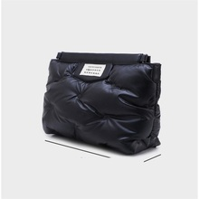 Clutches-Padded-Pillow Party-Bag Handbagblack White-Color Women Luxury Letter Large Day