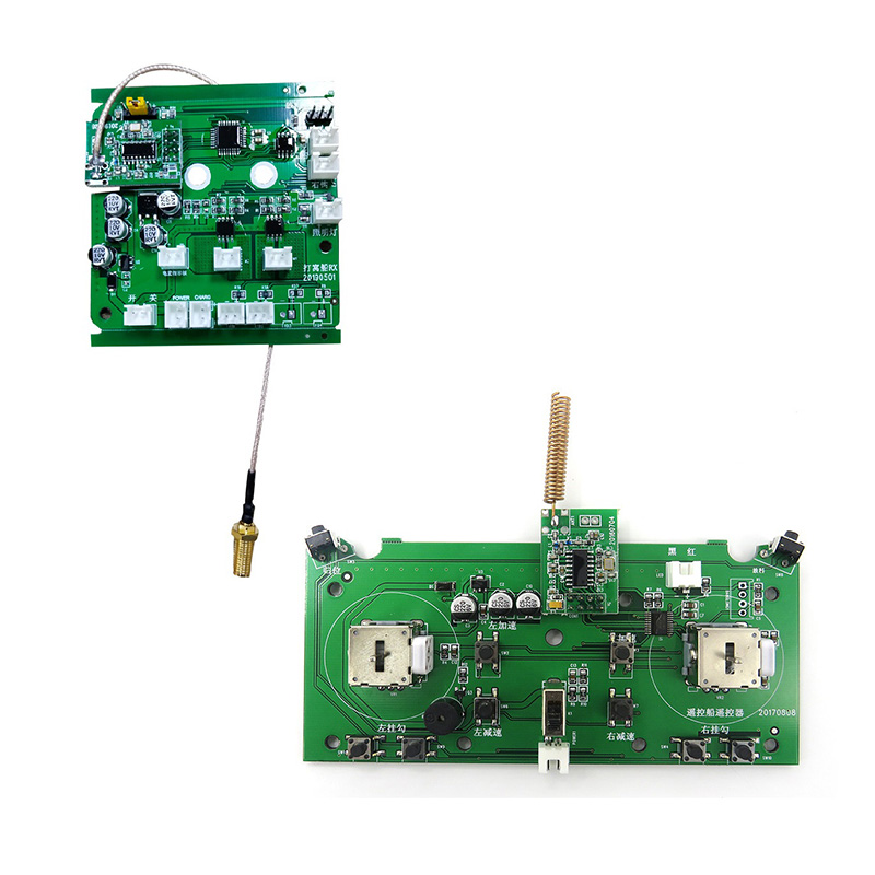 2011-5 Fishing Bait Boat Spare Parts Accessories Circuit Board Remote Control Circuit Board for Flytec 2011-5 Bait Boat