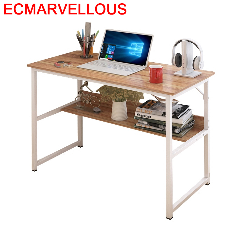 Small Escritorio Mueble Office Furniture Support Ordinateur Portable Bed Tavolo Mesa Tablo Desk Study Computer Table