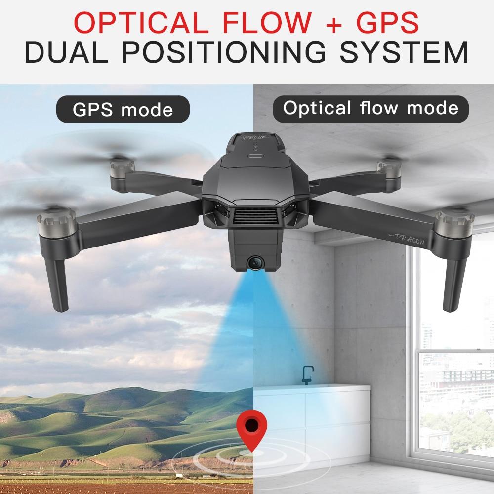 Купить kf107 gps радиоуправляемый дрон с 4k hd двойной камерой управление