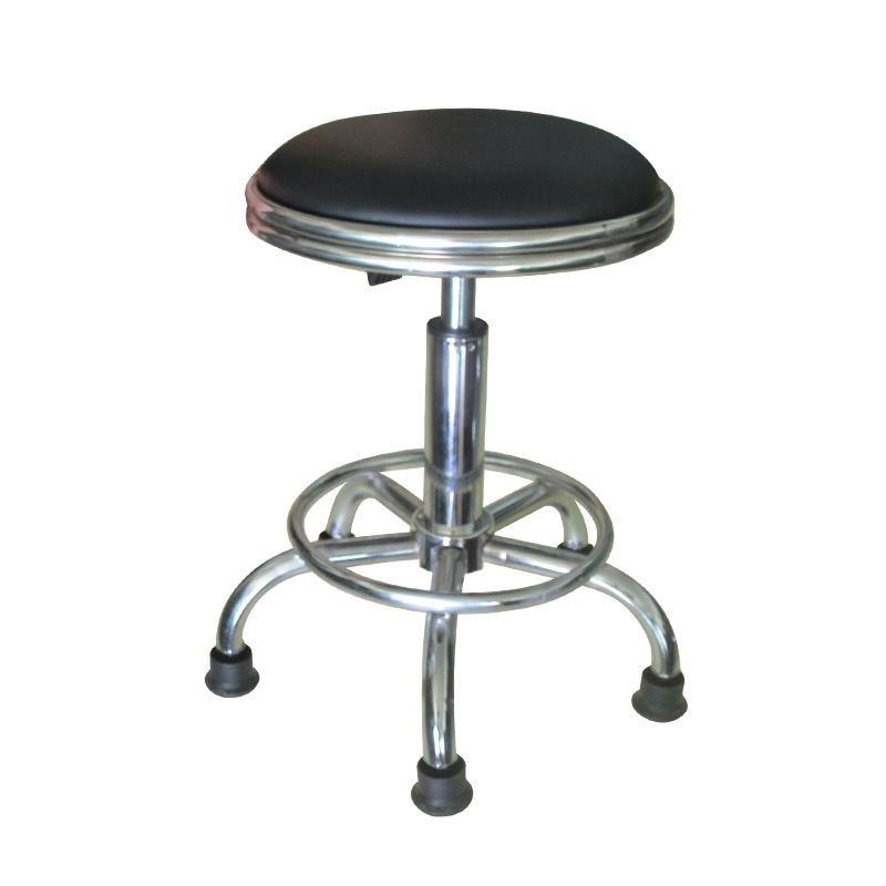 Manufacturers Wholesale Office Dust-free Workshop Stool Anti-static Height Adjustable Chair Wear-Resistant Leather Round Stool S