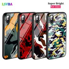 Black Cover Color Trend Camouflage for iPhone X XR XS Max for iPhone 8 7 6 6S Plus 5S 5 SE Super Bright Glossy Phone Case black cover japanese samurai for iphone x xr xs max for iphone 8 7 6 6s plus 5s 5 se super bright glossy phone case