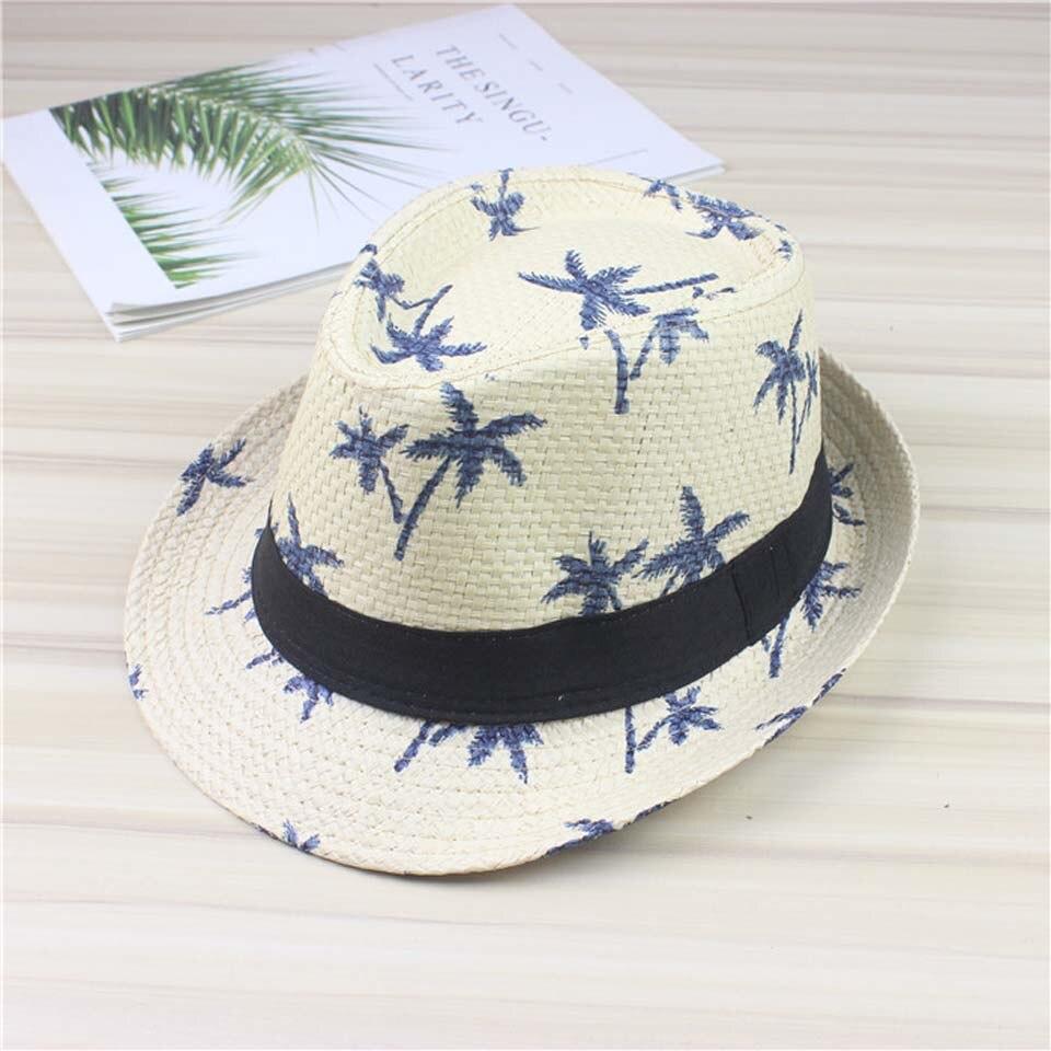 Летние соломенные детские шляпы от солнца, Пляжная Шляпа-трилби, Панама, шляпа ручной работы для мальчиков, девочек, детей, 4 цвета, шапка для родителей и детей, мужская шапка