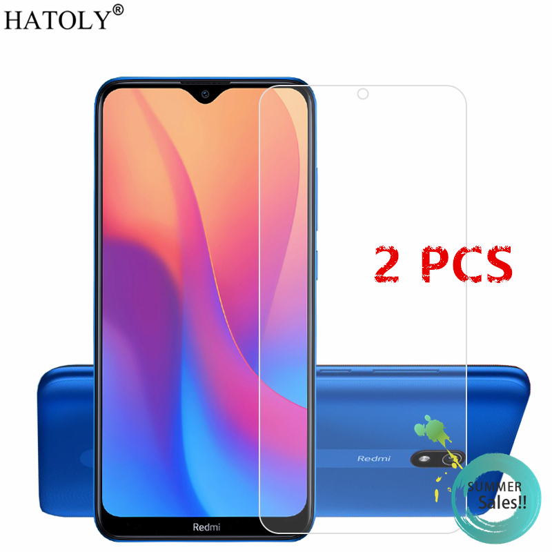 2Pcs For Xiaomi Redmi 8A Glass For Redmi 8A Tempered Glass Film 9H Phone Screen Protector Protective Glass For Xiaomi Redmi 8A