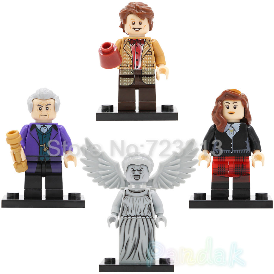 Doctor Who Figure Single Sale Clara Oswald Dr Assistant Weeping Angel TV Building Blocks Set Model Toys For Children Legoing