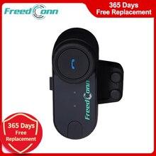FreedConn TCOM VB 800M รถจักรยานยนต์ Bluetooth Intercom ชุดหูฟังไร้สายหูฟังวิทยุ FM T COMVB