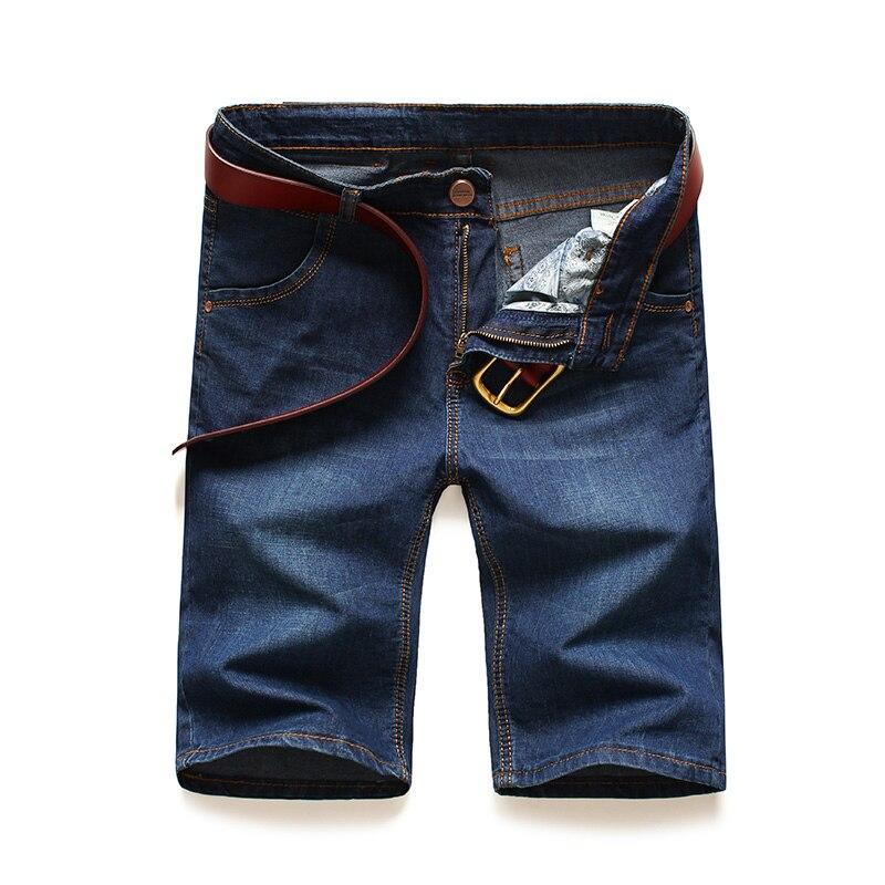 AIRGRACIAS Plus Size 28-46 New Fashion Mens Classic Short Jeans Brand Clothing Bermuda Cotton Elasticity Summer Denim Shorts