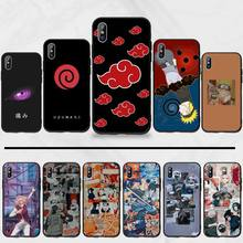 Anime Naruto Itachi Coque Shell TPU Soft Silicone Phone Case