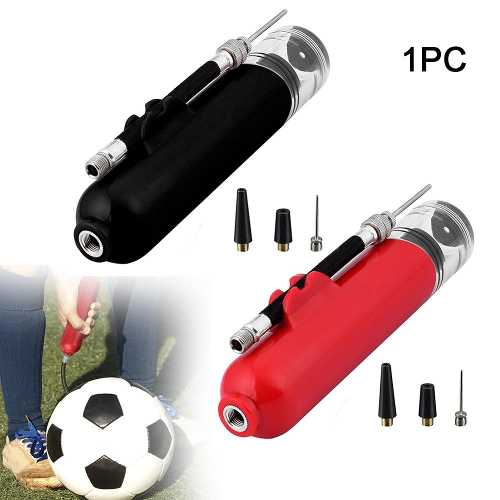 Ball Pump Hand Lightweight Nozzle Accessories Hose Holder Small Multifunctional Portable Inflator Volleyball Football Soccer