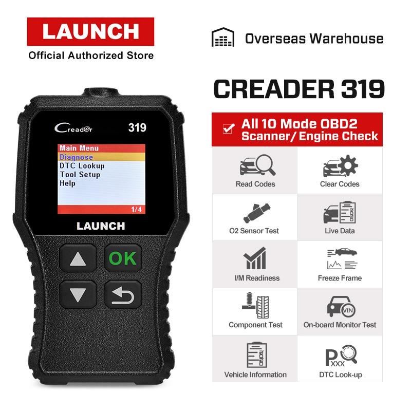 Starten X431 Creader 319 CR3001 Volle OBD2 OBDII Code Reader Scan Tools OBD 2 CR319 Auto Diagnose werkzeug PK AD310 ELM327 Scanner