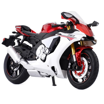 1:12 Diecast Motorcycle Model Toy Yamaha YZF R1 Sport Bike For Kids Toy Gifts Original Box Free Shipping Collection 1