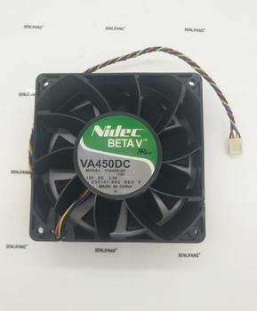 ل الأصلي Nidec VA450DC V34809-90 120*120*38 مللي متر DC12V 3.3A 4 خط PWM مروحة تبريد الهواء كبيرة