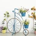 Кантри Ретро креативная пеньковая веревка в форме велосипеда цветы для дома  сада  рама для внутреннего и наружного Патио  сада  балкона  око...