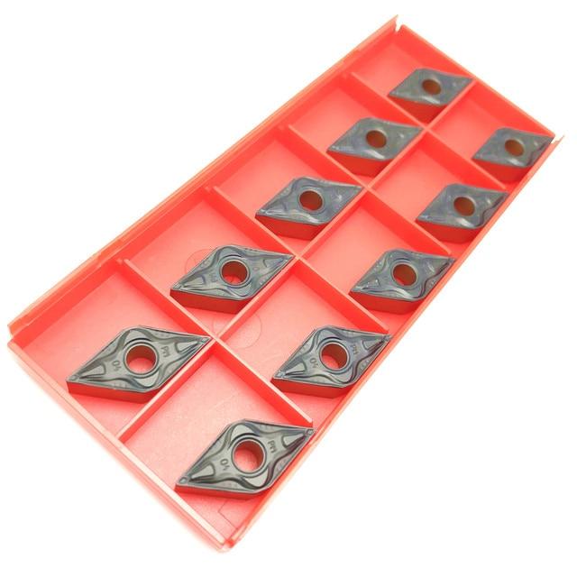 20PCS 45°SANDV high quality lathe tool DNMG150608 PM4225 carbide tool, external turning tool R0.8 CNC lathe tool