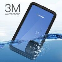 Wodoodporna obudowa do Samsung Galaxy S20 Ultra miękka przezroczysta pyłoszczelna nurkowanie etui na Galaxy S20 Plus Ultra etui na telefony Coque Funda