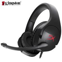 Kingston – casque de jeu HyperX Cloud, avec microphone professionnel, écouteurs esport, son Surround virtuel, AMP7.1