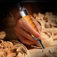 Aletler'ten Keski'de Çok fonksiyonlu mobilya elektrikli oyma keski ahşap oyma bıçağı el aletleri diy el sanatları için