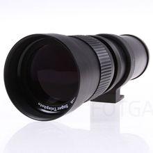 ABKT 420 800Mm F/8.3 16 טלה זום עדשה עבור Canon Pentax Sony Dslr מצלמות