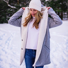 Buy Maternity Winter Solid Coat Long Hooded Wadded Casual Coat for Pregnant Women Pregnancy Clothes Slim Long Sleeve Outerwear directly from merchant!