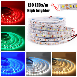 Image 3 - DC12V LED Streifen 5050 5054 2835 240LEDs/m Hohe Helle Flexible LED Seil Band Band Licht Lampe Warm weiß/Kalt Weiß 5m