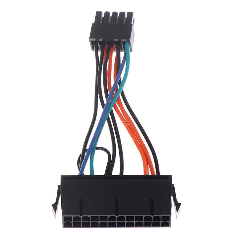 2020 gorąca sprzedaż 24-Pin kobieta do 10-Pin męski Adapter przewód zasilający dla Lenovo 10PIN płyta główna 10cm