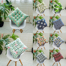 Cushion Home Dining-Chair Office Seat-Pads Square 40x40cm Cotton Thickened Winter