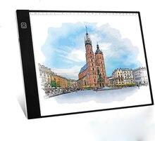Улучшенный планшет для рисования a4 со светодиодный Ной подсветкой