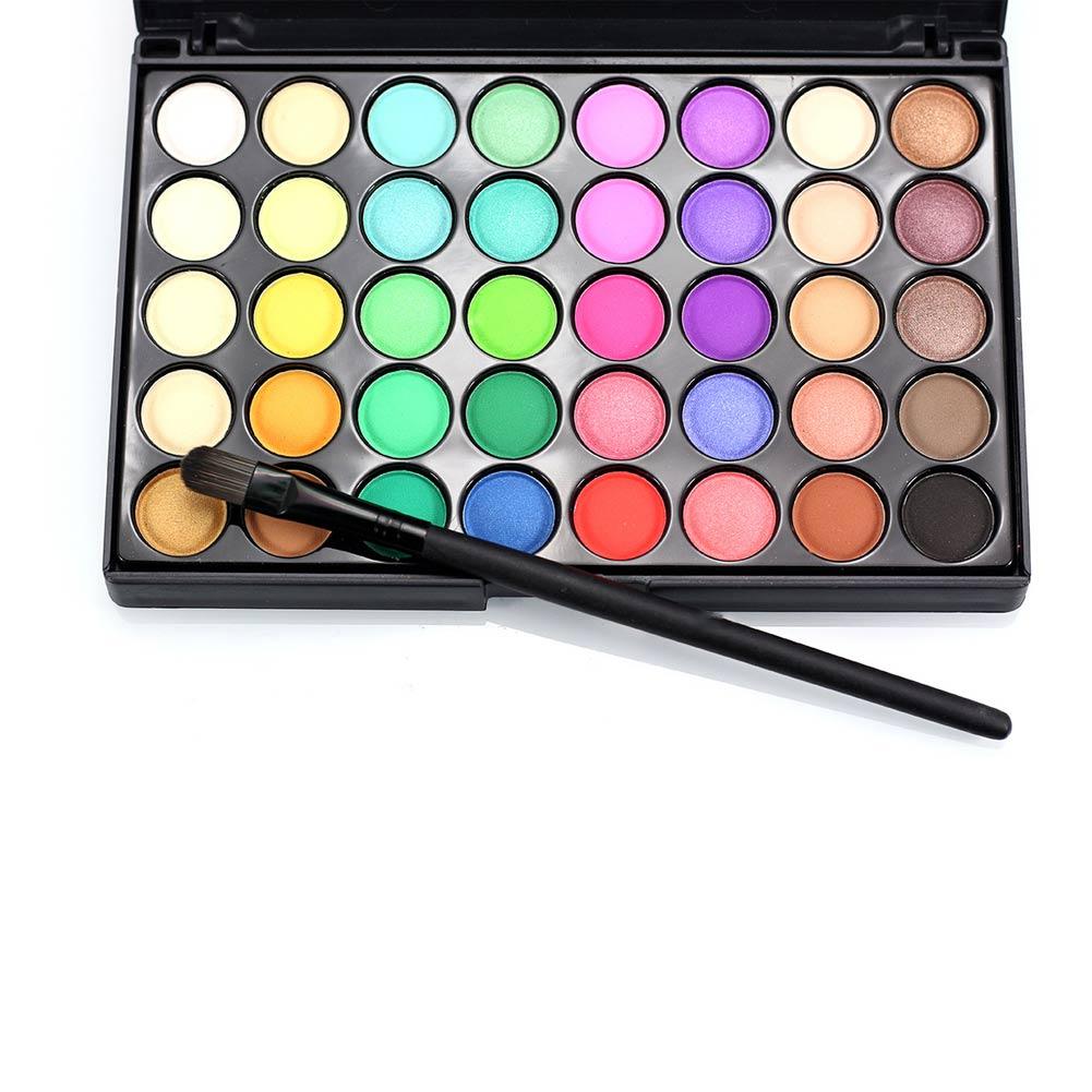 New Hot 40 Color Matte Eyeshadow Palette Make Up Earth Eye Shadow Cosmetic Glitter Waterproof Long Lasting Makeup Tools SMR88 1