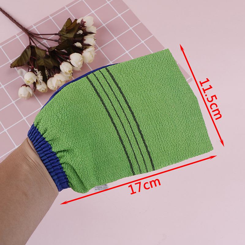 1 Pcs/Lot Bath Glove Korea Hammam Scrub Mitt Magic Peeling Glove Exfoliating Tan Removal Mitt Bath Brushes