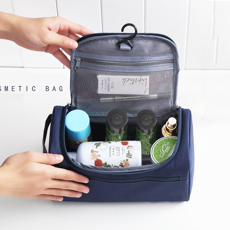 Women Makeup Bag Men Wash Toiletry Bag Large Capacity Waterproof Nylon Travel Organizer Cosmetic Bag Case Travel Necessaries