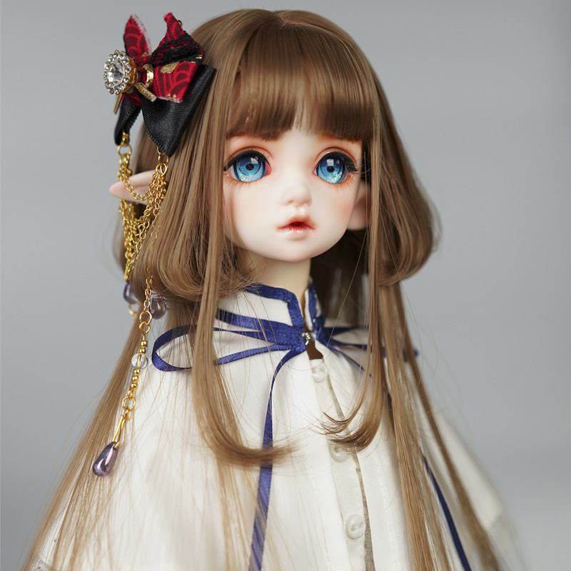 2021 New Style 1/3 1/4 1/6 Bjd Wig High Temperature Long Fashion Wire SD For BJD Doll