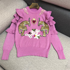 Heavy Embroidery Swe...