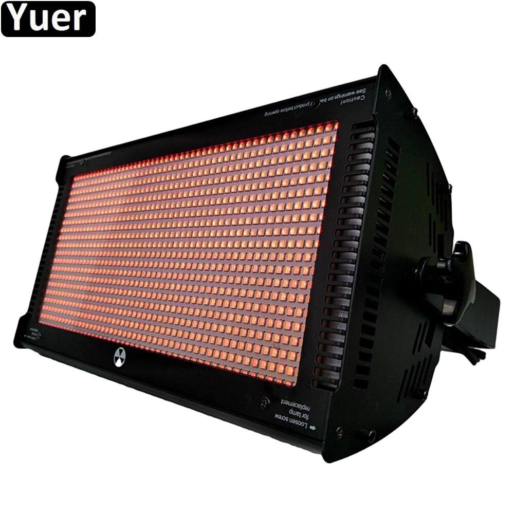 Stage Effect Lighting LED 1000W Colouring Strobe Light RGB 3IN1 LED Lamp LED Wash Strobe 2IN1 Atomic Strobe Light For DJ Disco