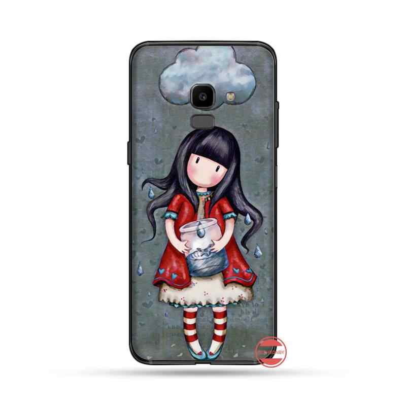Santoro Gorjuss Coque Shell Telefon Fall Für Samsung Galaxy J2 J4 J5 J6 J7 J8 2016 2017 2018 Prime Pro plus Neo duo