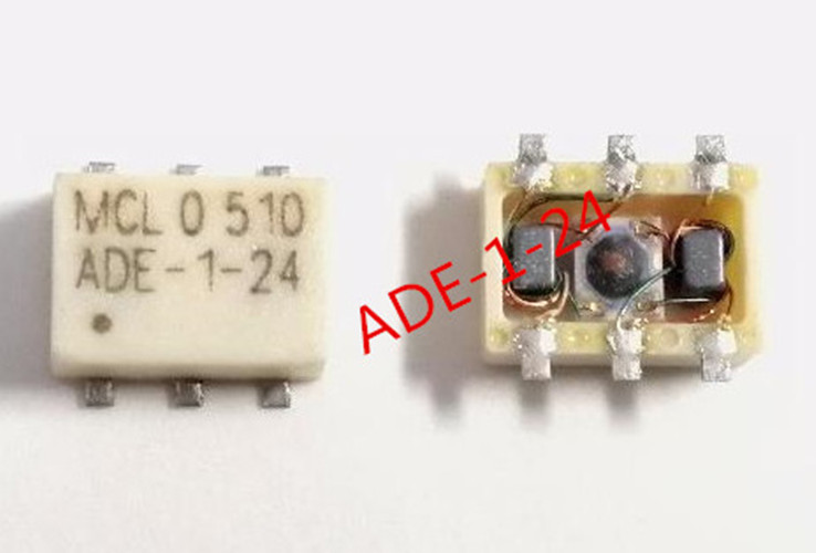 10pcs 100% New ADE-1-24 ADE-1 Surface Mount Frequency Mixer Sop-6 Chipset