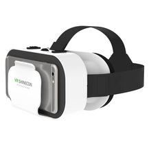 VR SHINECON VR Glasses Universal Virtual Reality Glasses for Mobile Games 360 HD Movies Compatible with 4.7-6.53'' Smartphone