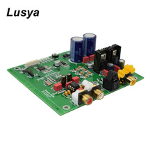 Versione aggiornata scheda amplificatore Audio Hifi ES9038 Q2M I2S Decoder DSD scheda di decodifica DAC ingresso fibra coassiale