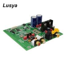 Yükseltilmiş versiyonu Hifi ses amplifikatörü kurulu ES9038 Q2M I2S DSD dekoder koaksiyel Fiber giriş DAC çözme kurulu