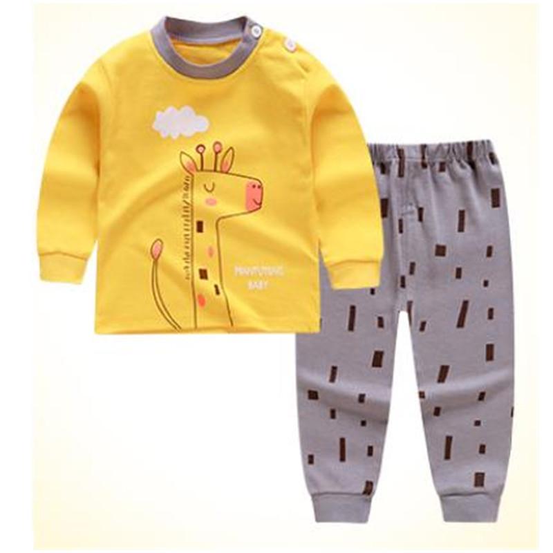 Free Ship Baby Boys Girls Clothing Suit Spring Long Sleeve Tops + Pants 2PCS Children Clothing Kids Bebes Jogging Suits A0030