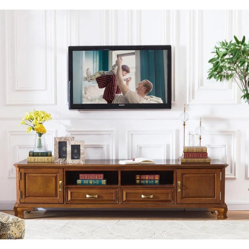 tv cabinet derevyannyj shkaf dlya gostinoj tv stand meuble tv en bois salon wa677