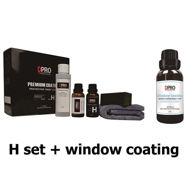 Hset window coating