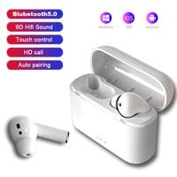 Auriculares TWS Air i11 Pro, inalámbricos por Bluetooth 5,0, Auriculares deportivos con micrófono para teléfonos inteligentes, Xiaomi, Samsung y Huawei