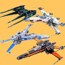 New Starwars Rogue One USC Naboo X-wing Fighter Fit Star Wars Fighter Figures Model Building Blocks Bricks Toy Gift Kid Birthday цена 2017