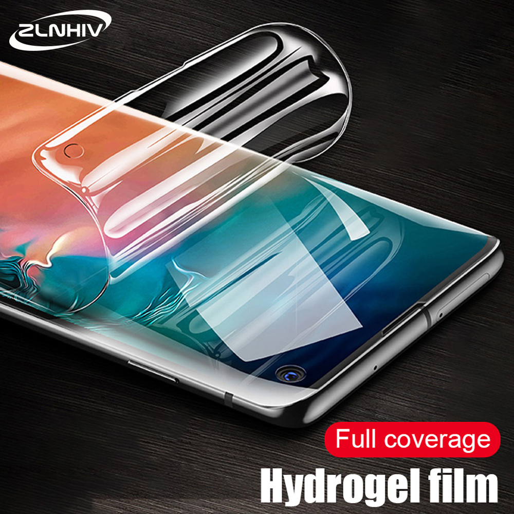 ZLNHIV full cover hydrogel film for samsung galaxy s8 s9 s10e s10 plus s7 edge phone screen protector protective film Not Glass image