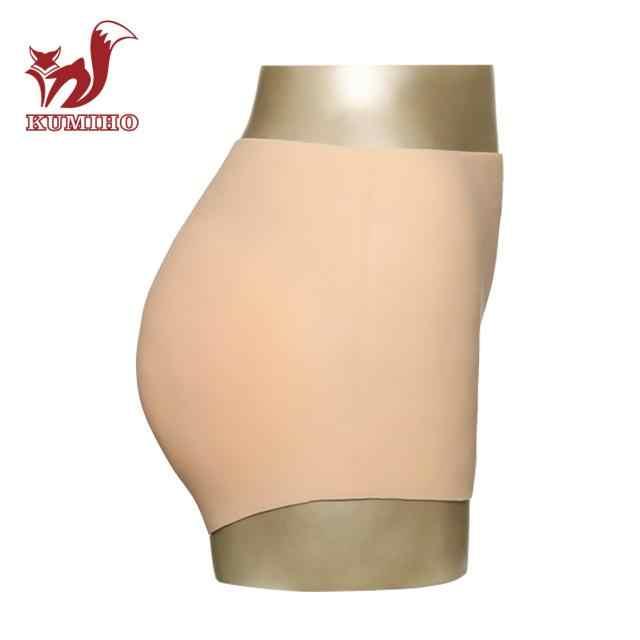 KUMIHO 1G 실리콘 침투 가짜 질 팬티 인공 가짜 속옷 섹스 가짜 복서 Crossdresser 드래그 여왕 트랜스 젠더
