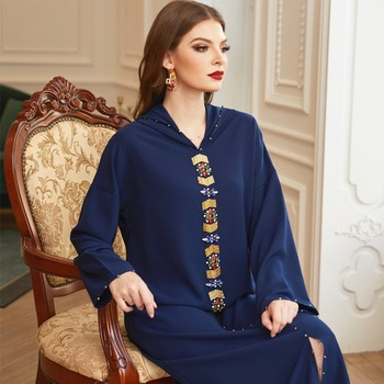 Abaya Dubai Turkey Hijab Muslim Dress Islam European Clothing African Dresses For Women Robe Musulman
