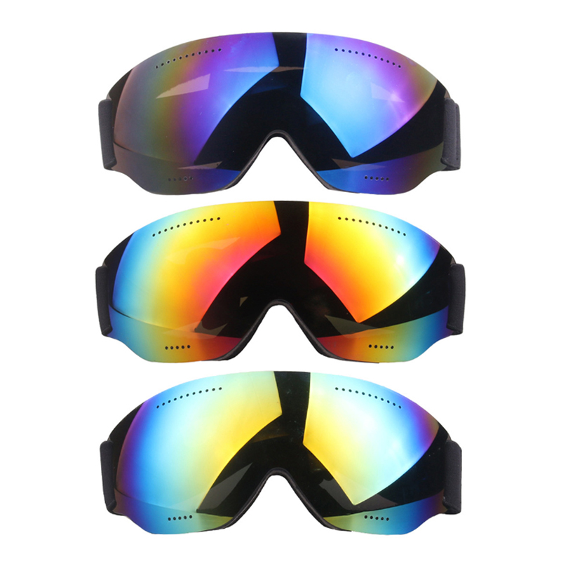 Unisex Outdoor Skiing Goggles Windproof Snowboard Glasses Winter Anti-fog Eyewear For Cycling Motorcycle Kite Surfing 3 Colors