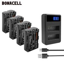 Bonacell 2400mAh NP-FM500H NP FM500H NPFM500H Camera Battery+LCD Dual Charger For Sony A57 A58 A65 A77 A99 A550 A560 A580 L50 2pc np fm500h np fm500h npfm500h battery lcd ultra fast dual charger for sony a57 a65 a77 a99 a350 a550 a580 a900 digital camera