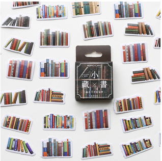 S147- Little Book Diy Decorative Sticker(1pack=45pieces)